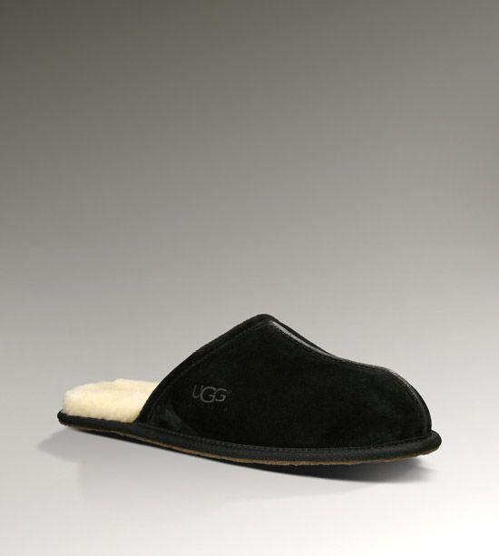 a10cc6f4be8 UGG Scuff Men s Black Slippers