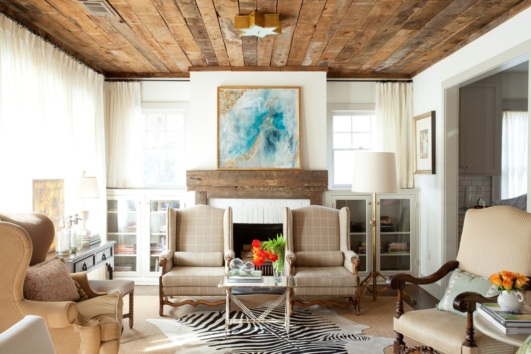 1940\'s Bungalow | Ashley Gilbreath Interior Design | Living Room ...