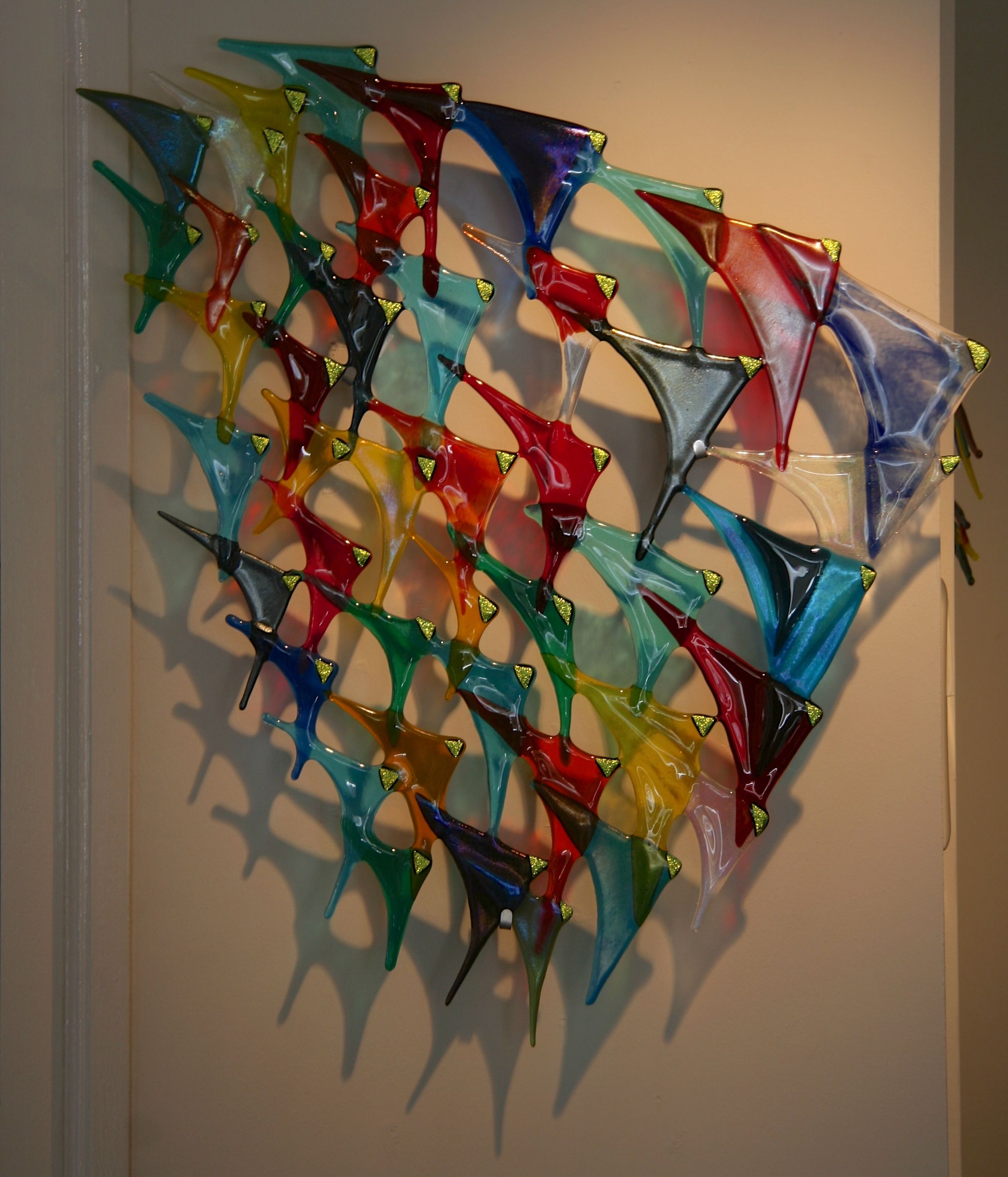 Fused Glass Wall Art: 1000+ Images About Vidrios On Pinterest