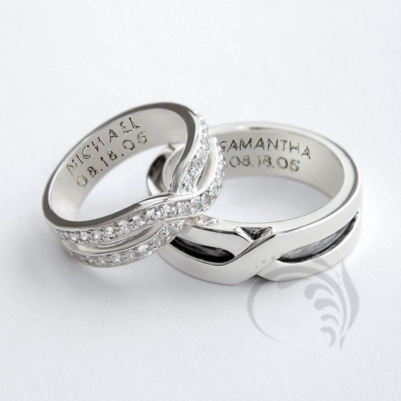 silver full rings and love store all that adjustable brings luck symbolises fits couple commitment sizes relationship to