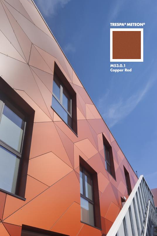 Rojm Mechelen Trespa Meteon Arhitektura Fasad