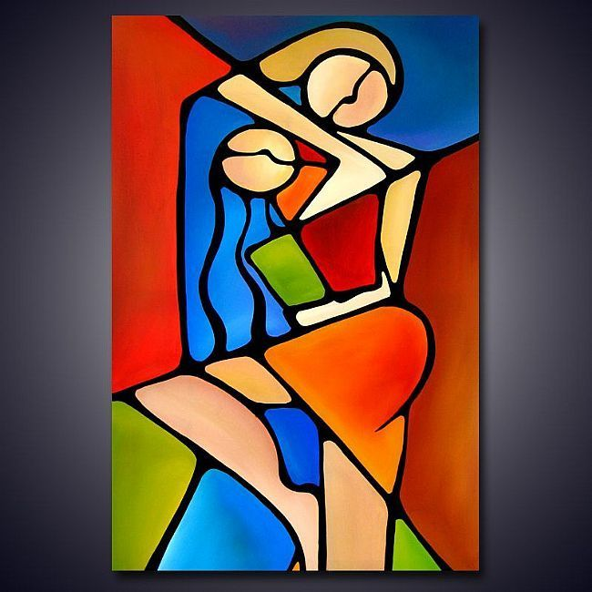 Tom fedro cubism art connected by artist thomas c for Abstract art definition for kids
