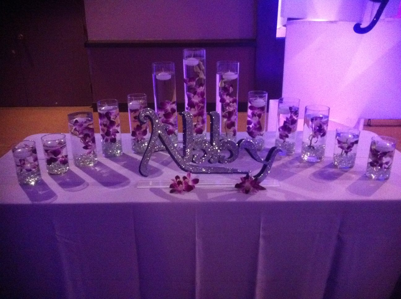 Bat Mitzvah Candle lighting Display Party Perfect Boca Raton FL I like this concept for Zu0027s 16 candles but all white and gold & Best 25+ Sweet 16 candles ideas on Pinterest | Mascarade party ... azcodes.com