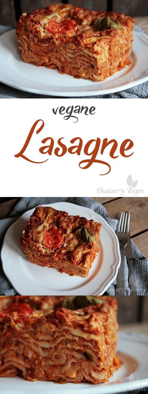 Einfache Lasagne ohne Schnickschnack #veganerezepte