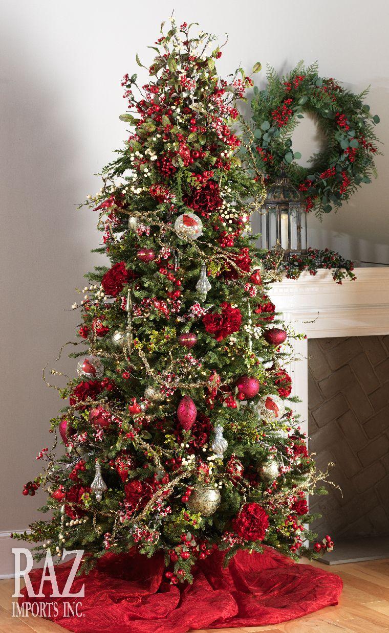 ideas de decoracion de arboles de navidad 2017 2018 21. Black Bedroom Furniture Sets. Home Design Ideas