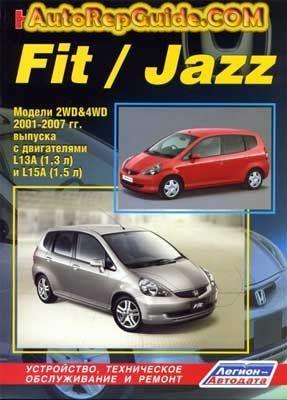 Download Free Honda Fit Jazz 2001 2007 Repair Manual Image