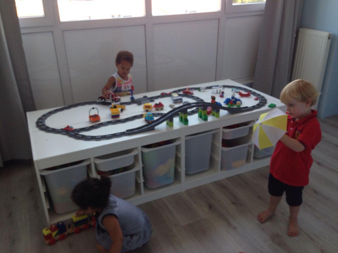 Opbergkast Voor Speelgoed.Opbergkast Speelgoed Opberg Idee Baby Play Room En Baby Kids