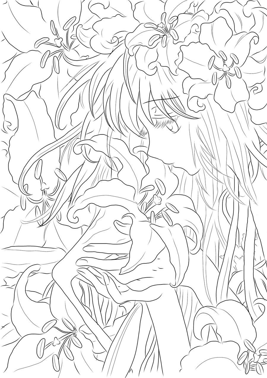 Coloring Page Malvorlagen Coloring Pages Adult Coloring Und