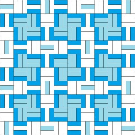 Easy Rectangle Quilt Patterns   FeltMagnet