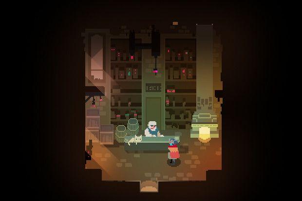hyper light drifter jogos pixel art