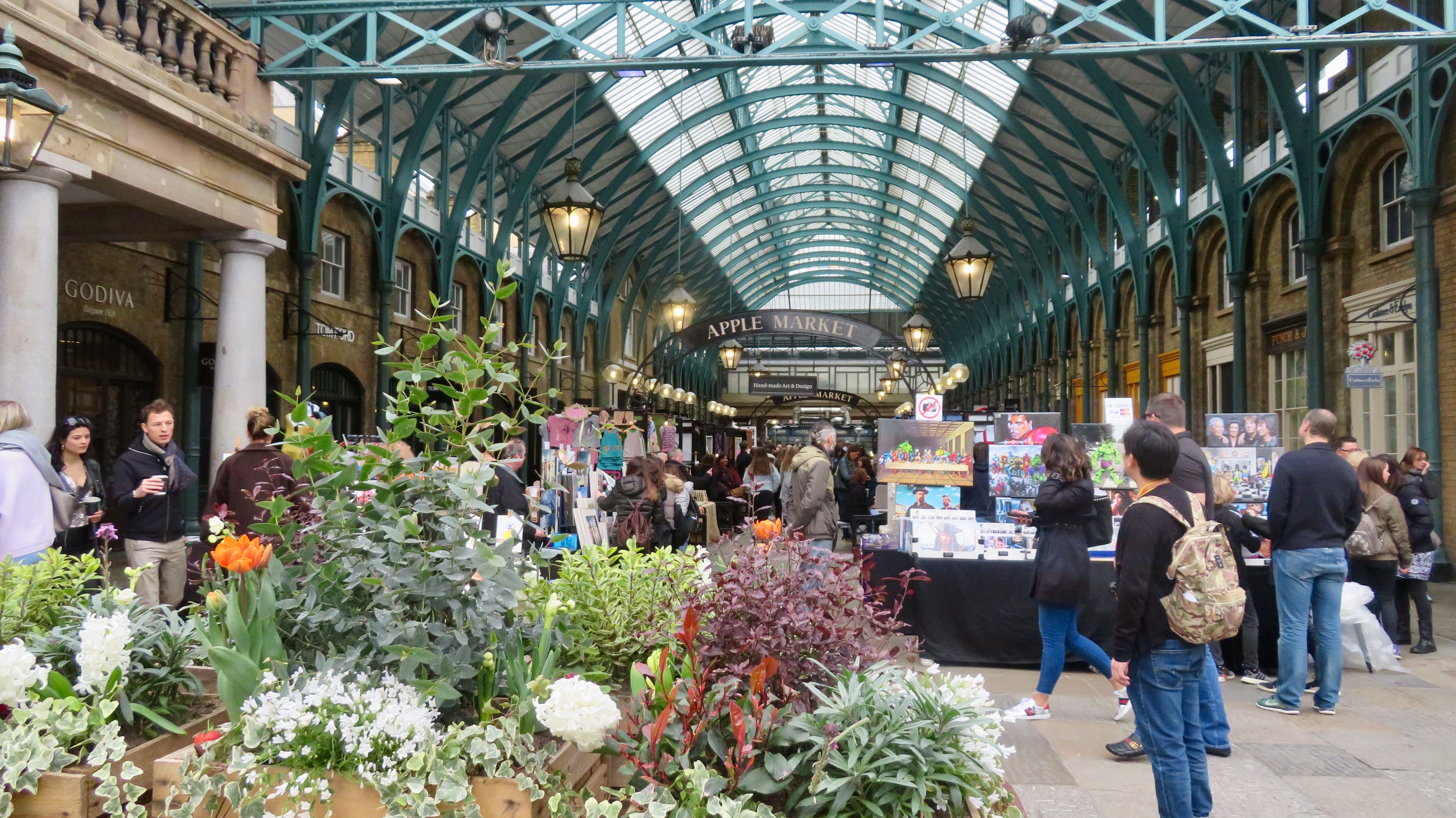 The Old 1830 Covent Garden Market in London England bit.ly