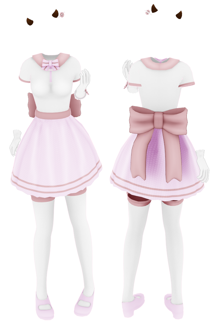 MMD Commission] Pink Outfit {No DL} by Arneth-Myndraavn
