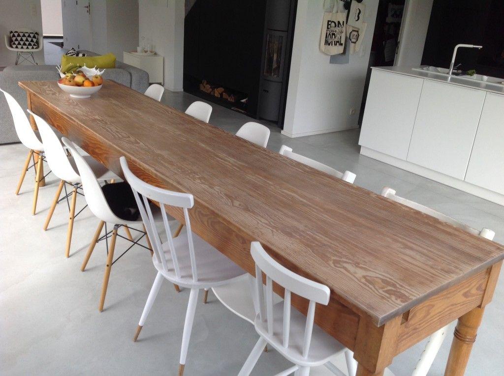 Sublime Table Manger Tout Droit Venue Dun Ancien Couvent Bon Choix