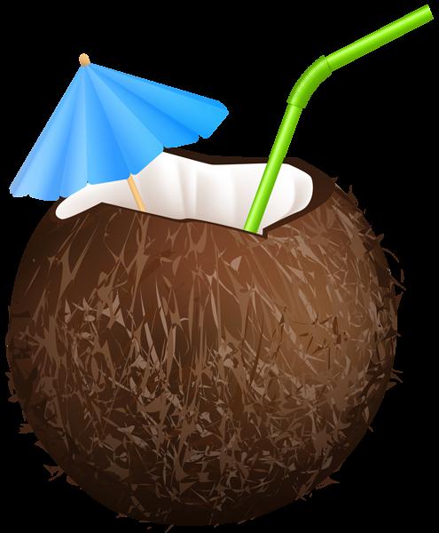 Summer Coconut Drink Png Clip Art Image Clip Art Art Images Coconut Drinks
