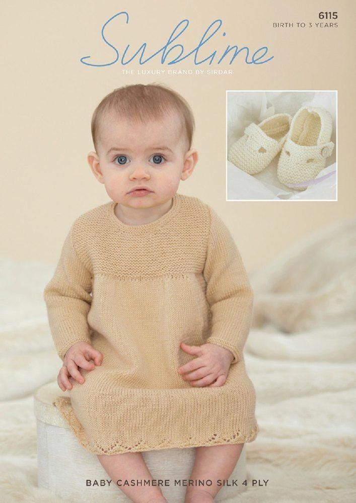 c824c4786 Dress and Shoes in Sublime Baby Cashmere Merino Silk 4 Ply - 6115 ...