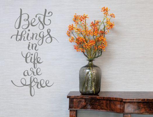 Inspirational Wandtattoo Spruch auf Englisch Wohnzimmer Schlafzimmer