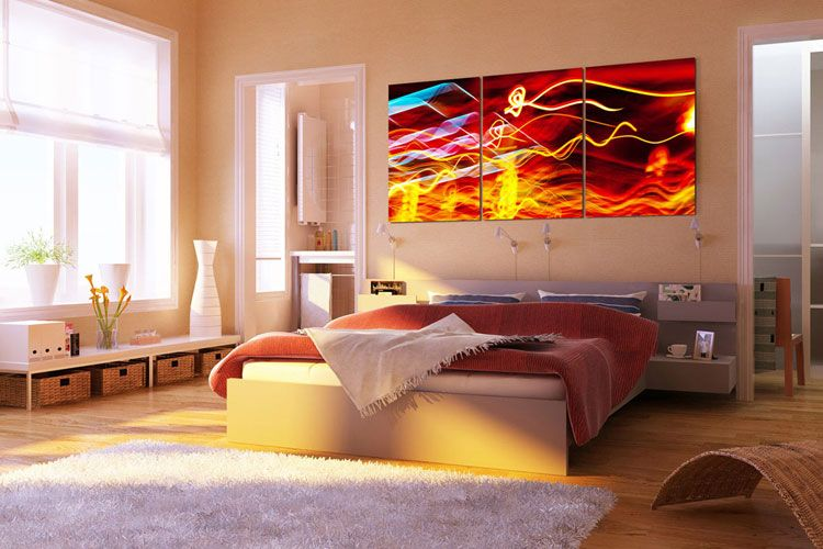40 Quadri Moderni Astratti per la Camera da Letto | Quadri | Pinterest