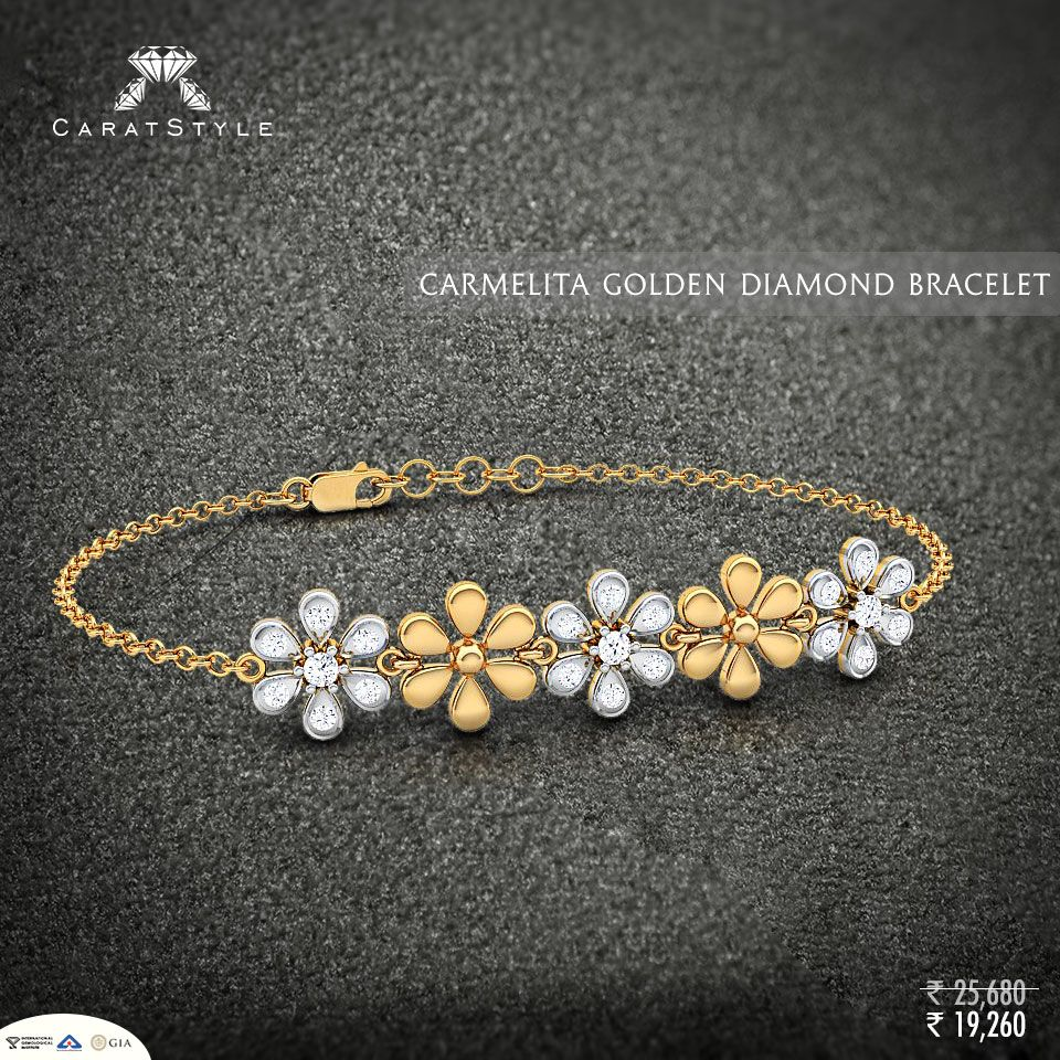 Introducing diamond gold and solitaire bracelets for its