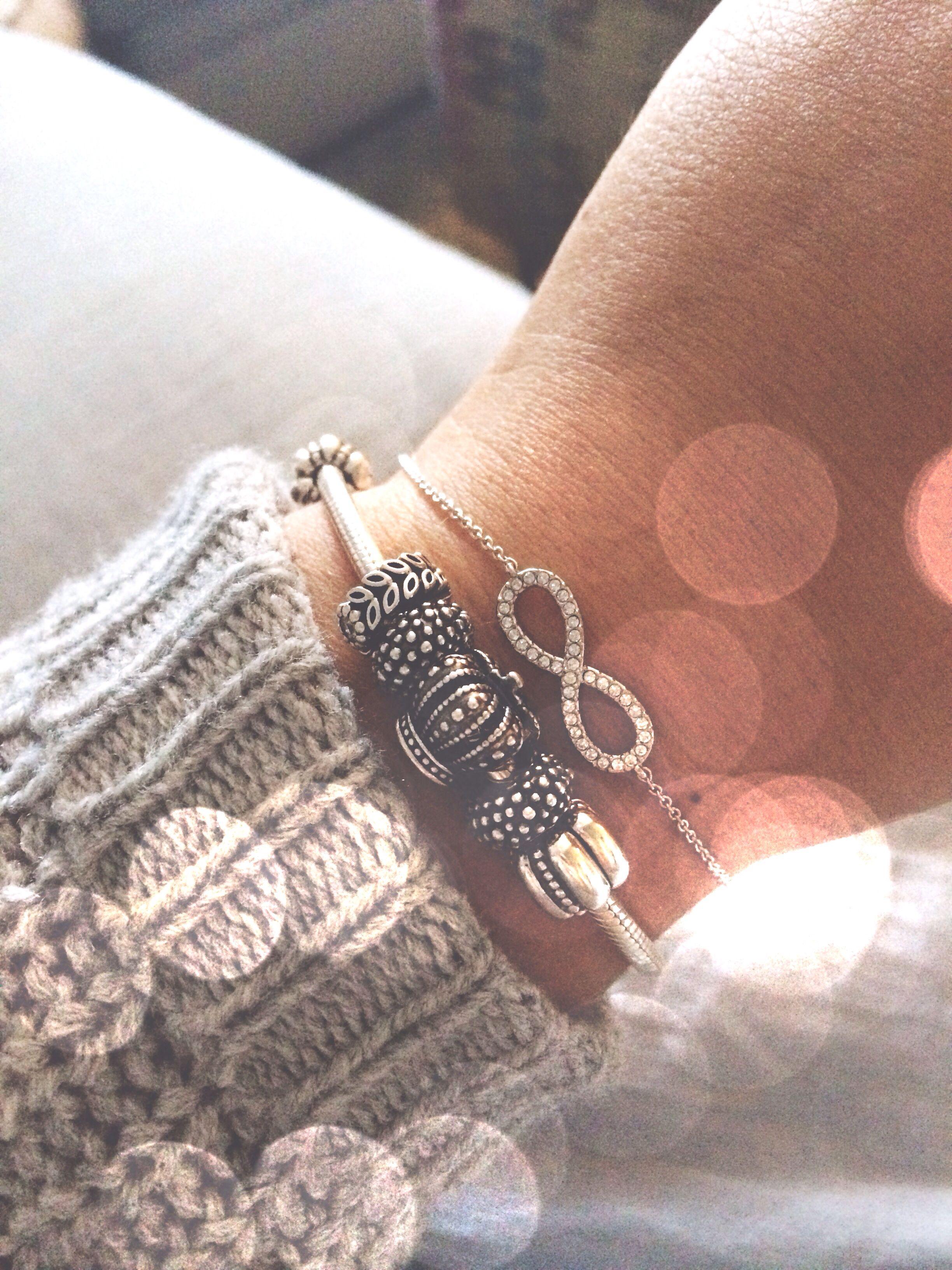 bef64f282 Pandora and Infinity Bracelet | Style in 2019 | Bracelets, Sapphire ...