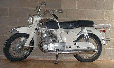 Honda Dream 170 1967 Cartype Honda Scooter Bike Vintage Motorcycles