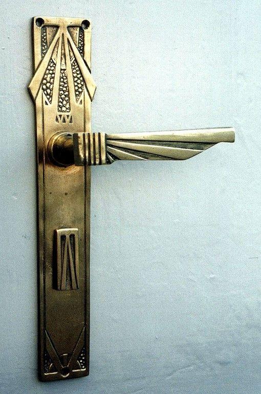 »Interior Door Fitting ART DECO« By Replicata: Functionality: Interior Door  Fitting,