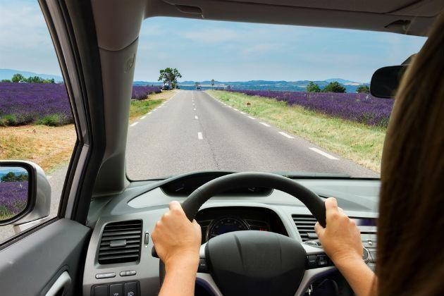 Voce Dirige Com Seguranca Na Estrada Dirigindo Carro Aulas De