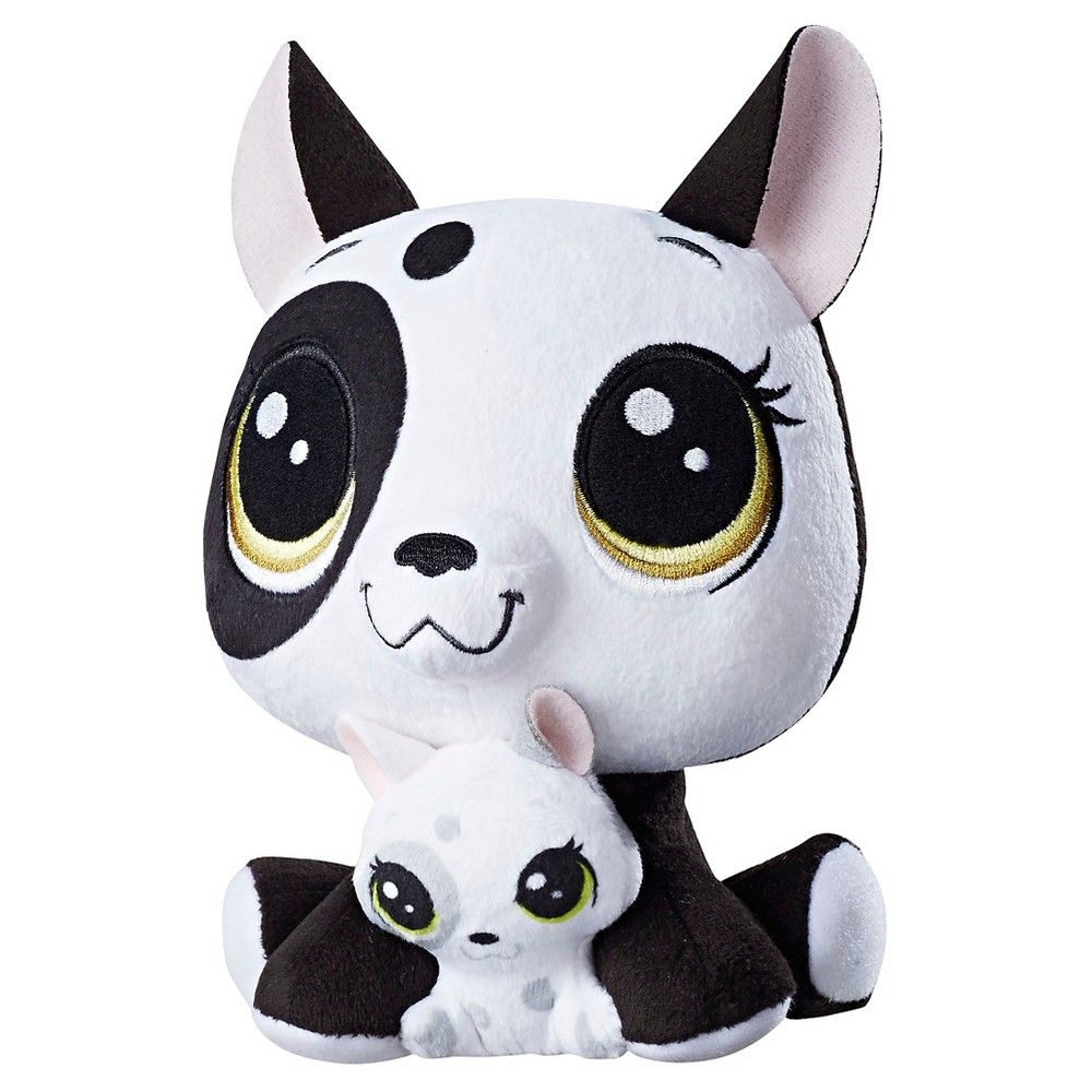 Littlest Pet Shop Bullena Doghouser and Scamper Doghouser Plush ...