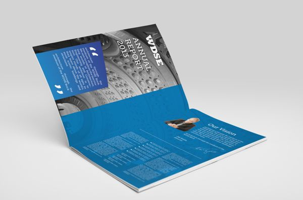 WDSE ANNUAL REPORT 2013 on Behance