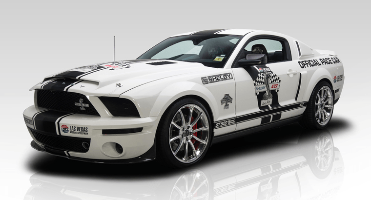 Rare Mustang Shelby GT500 Super Snake Pace Car