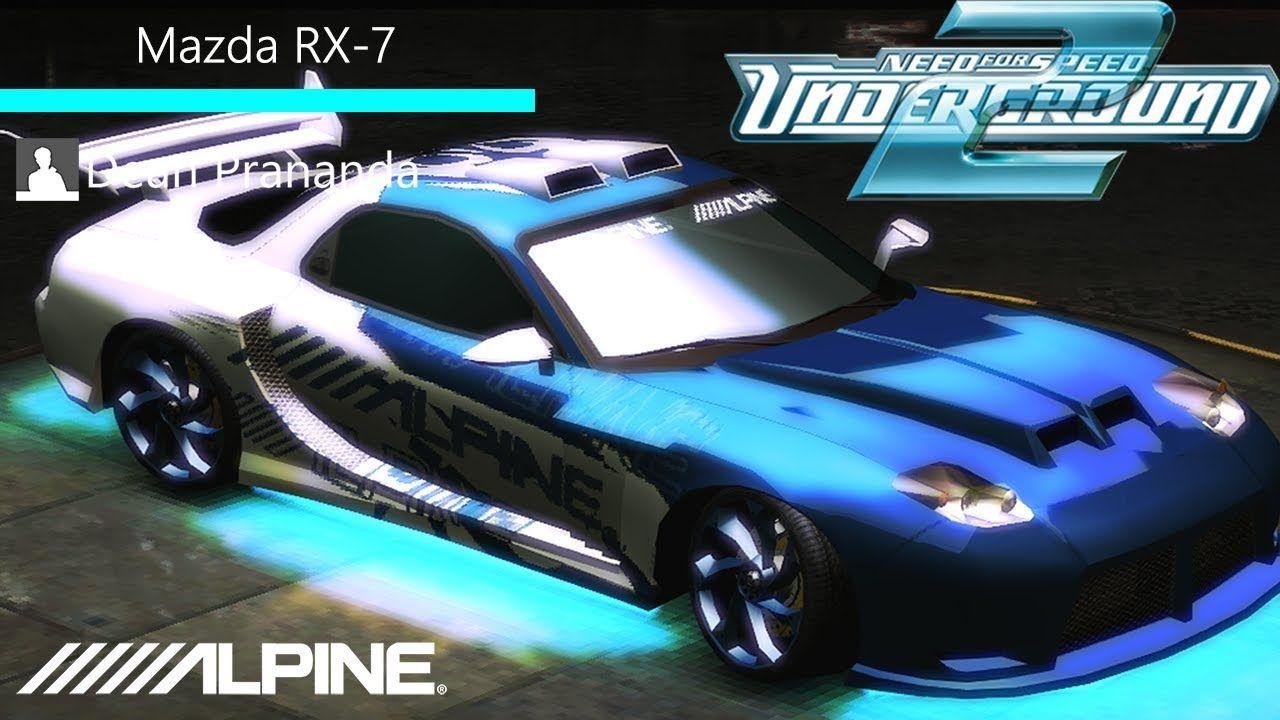 Nfs Underground 2 Mazda Rx 7 Tuning Youtube Sub Subs Subscribe Mazda Mazdarx7 Rx7 Nfs Needforspeed Mazda Rx7 Mazda Rx7