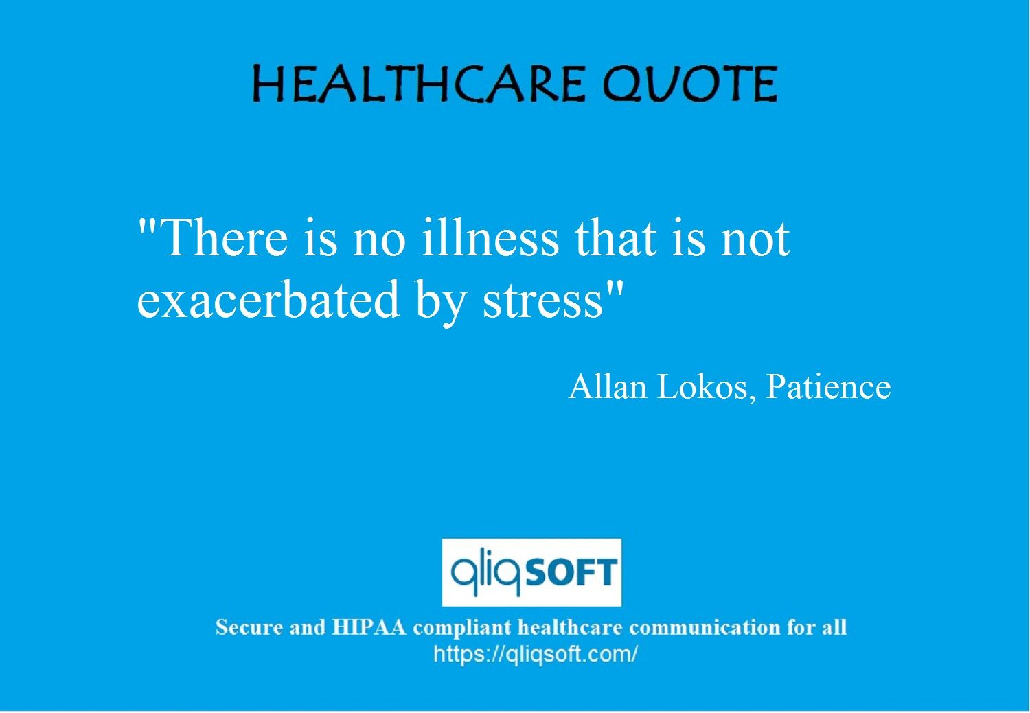 Weekly #healthcare Quote. #HIPAA