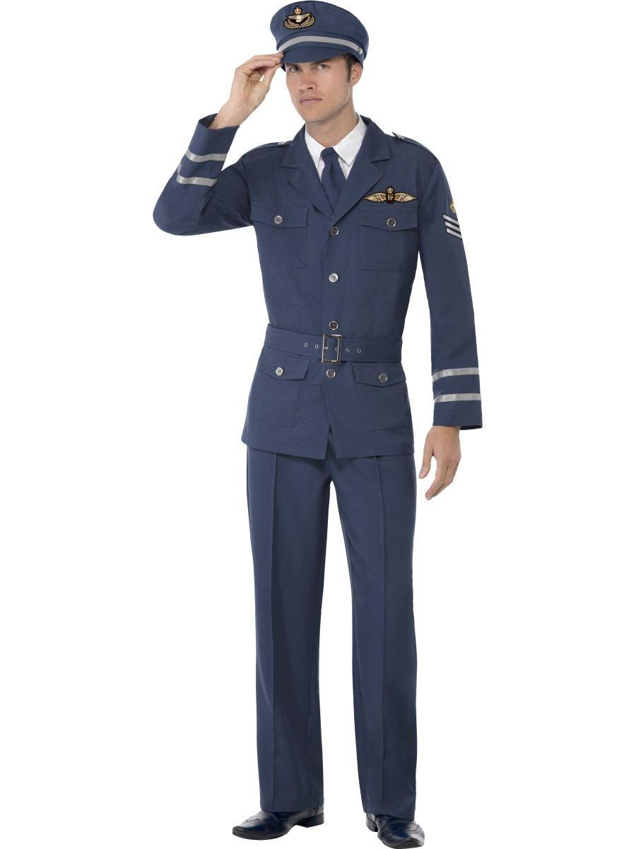 40-luvun lentokapteeni. Arvokkuutta, tyyliä sekä charmia, näitä kaikkia tämä naamiaisasu tuo kantajalleen.