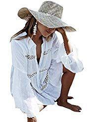 Photo of Imixcity Boho Abito da donna con ricami a mano Abito da spiaggia Bikini Coprire …
