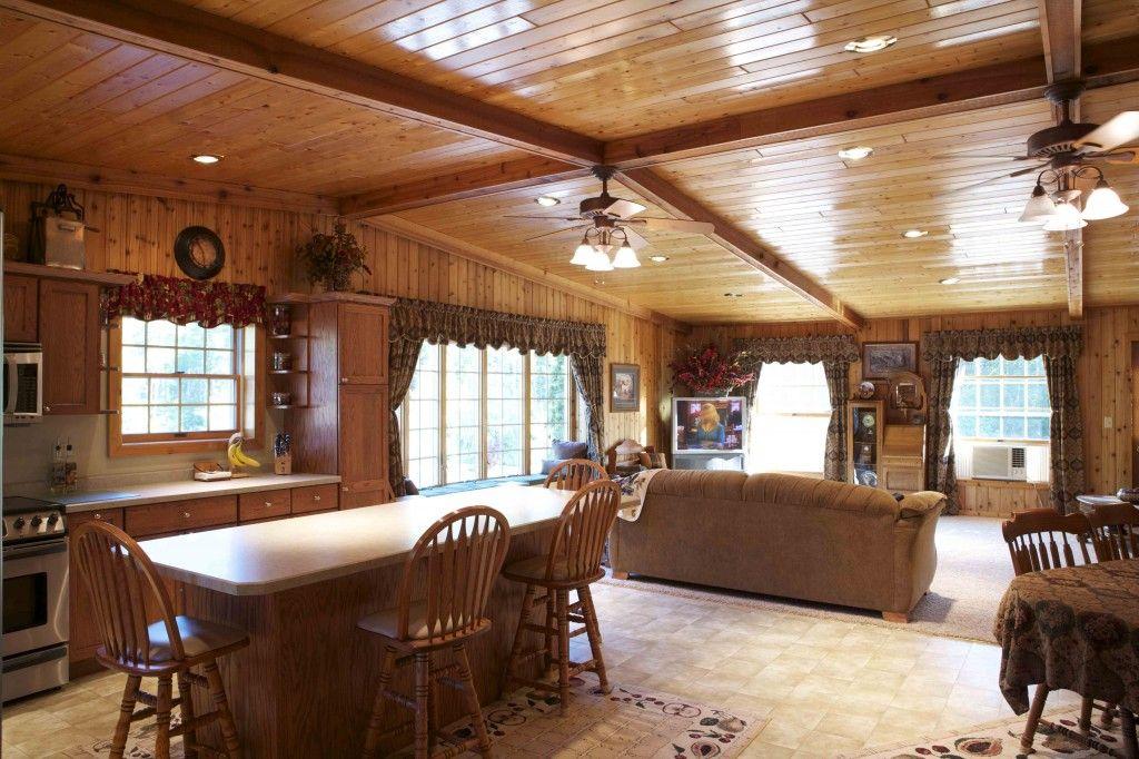 this home was built for steve shari of deer river mn special features mortons hi rib steel porch brick steel wainscot fibersteel
