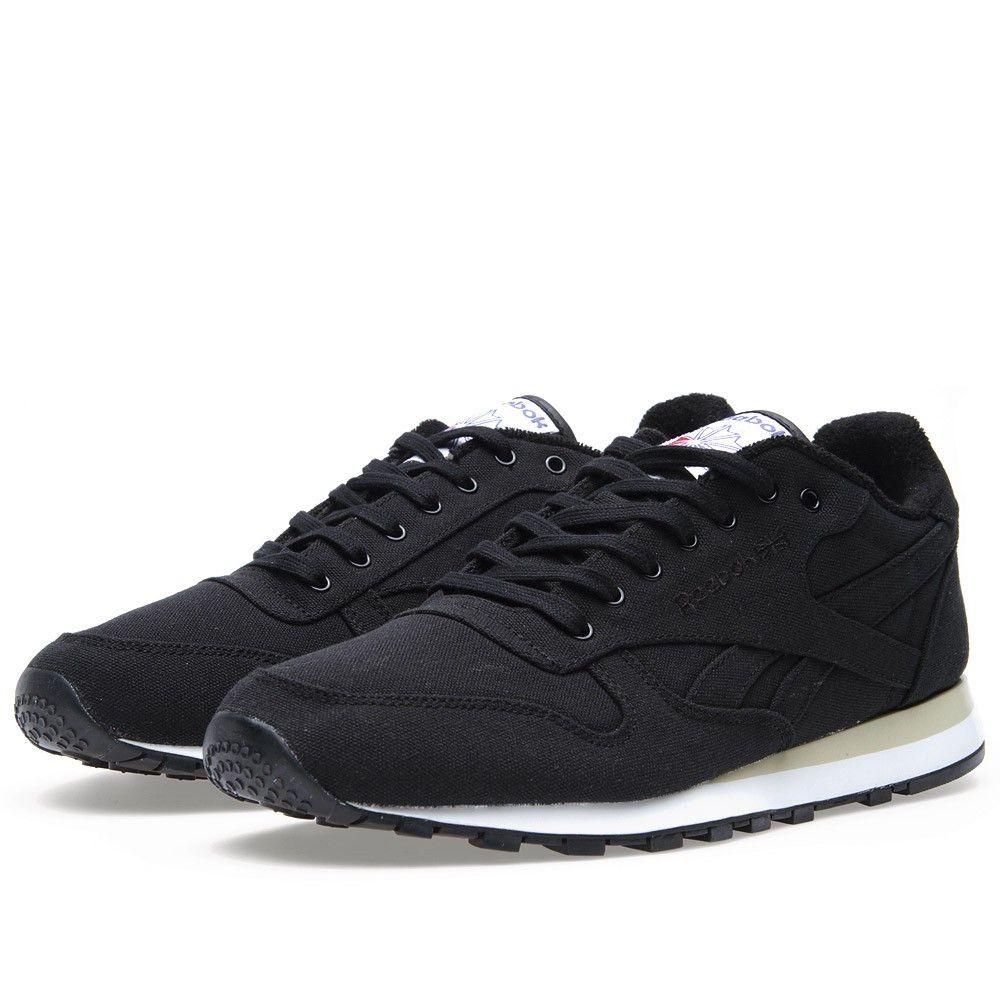 b97725fec37 Zapatos Para Hombre · Reebok Classic Lux Textile (Black)
