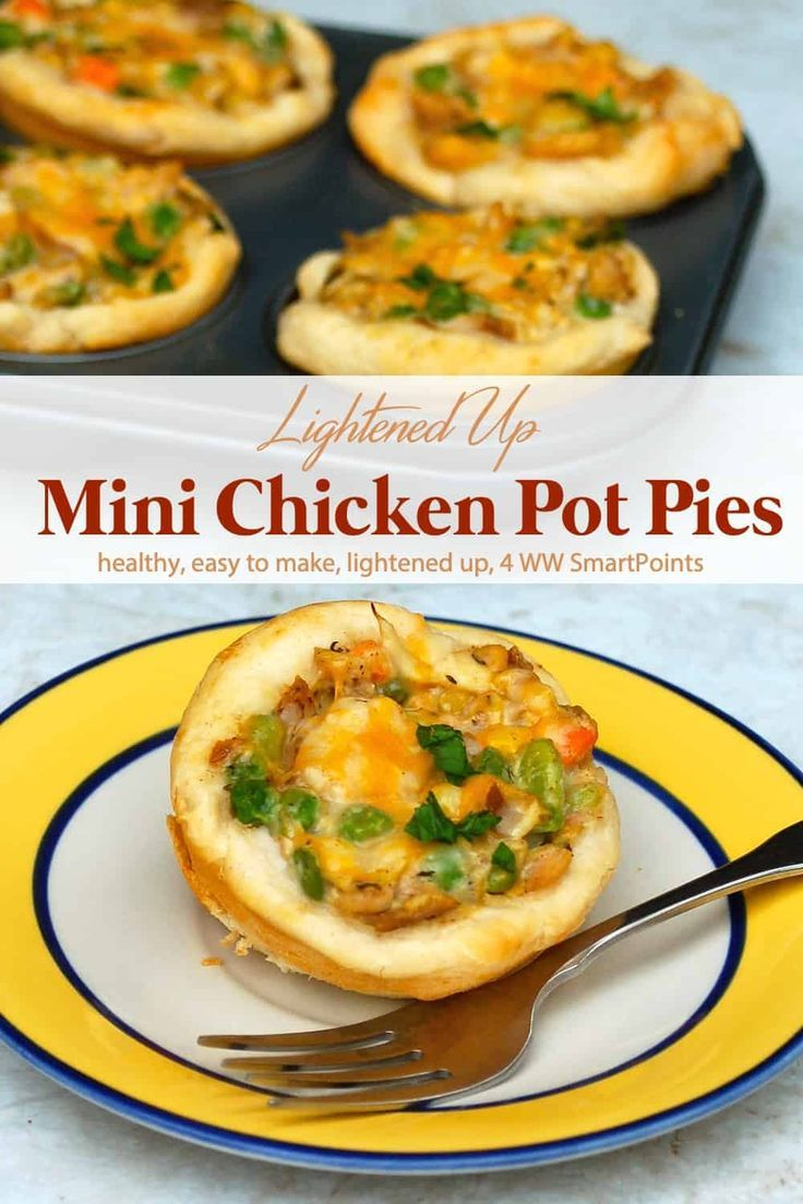 Muffin Tin Mini Chicken Pot Pies images