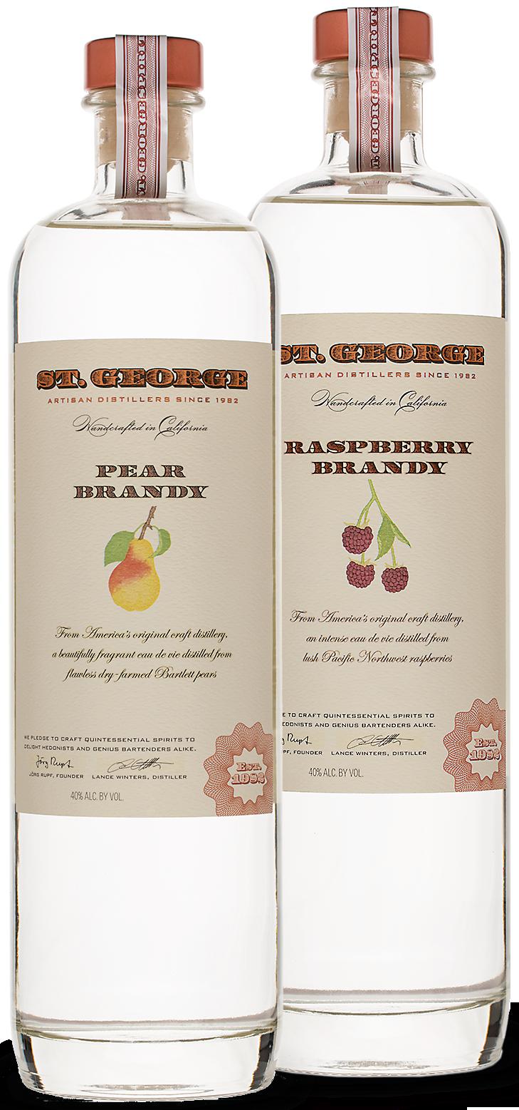 St. George Fruit Brandies « St. George Spirits