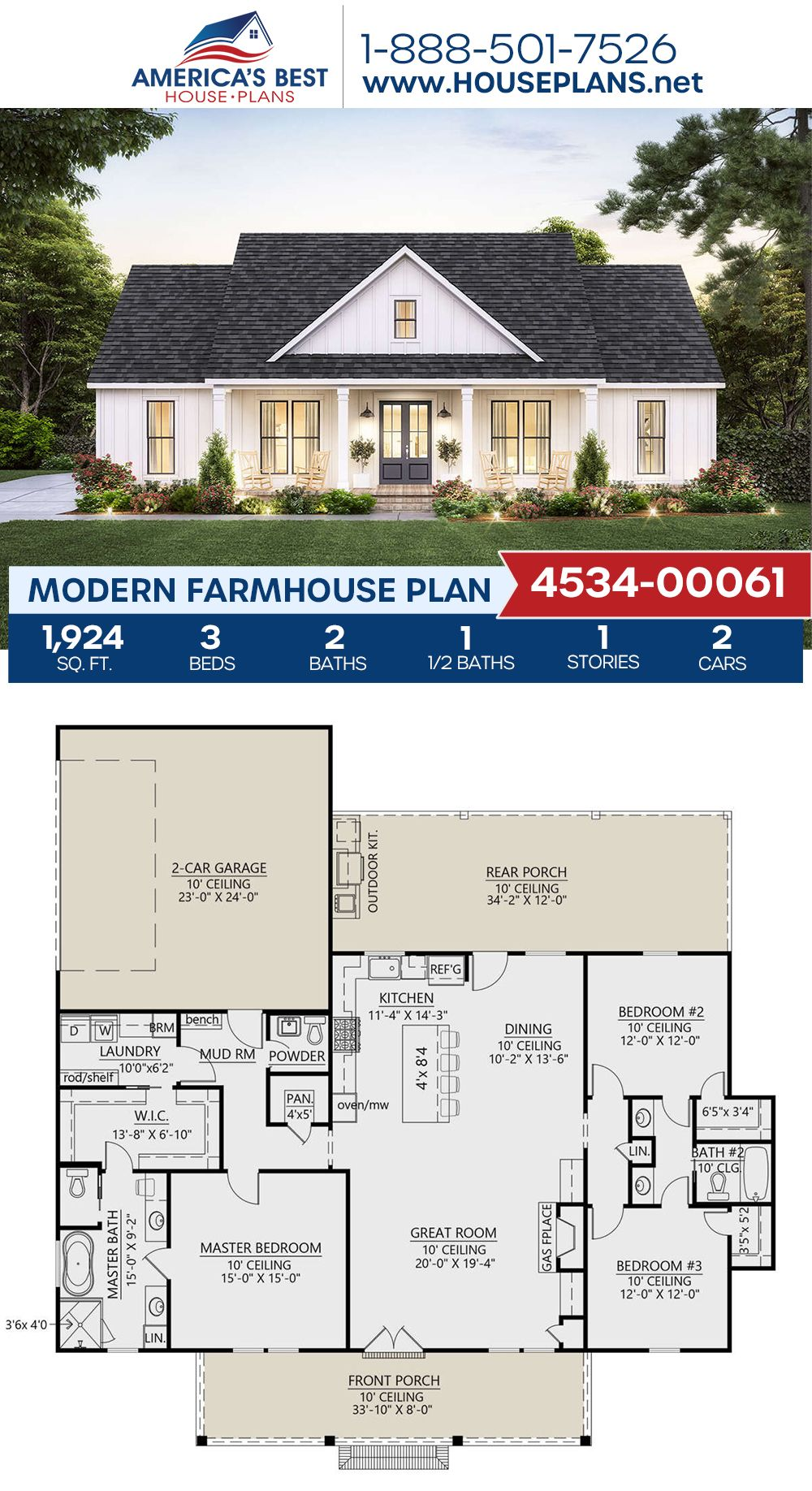 45+ Symmetrical farmhouse plans inspiration