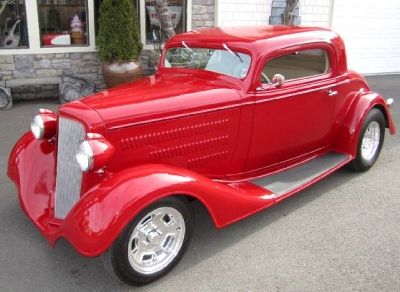 1934 Chev Coupe | Custom Oldies | Vintage cars, Old classic cars