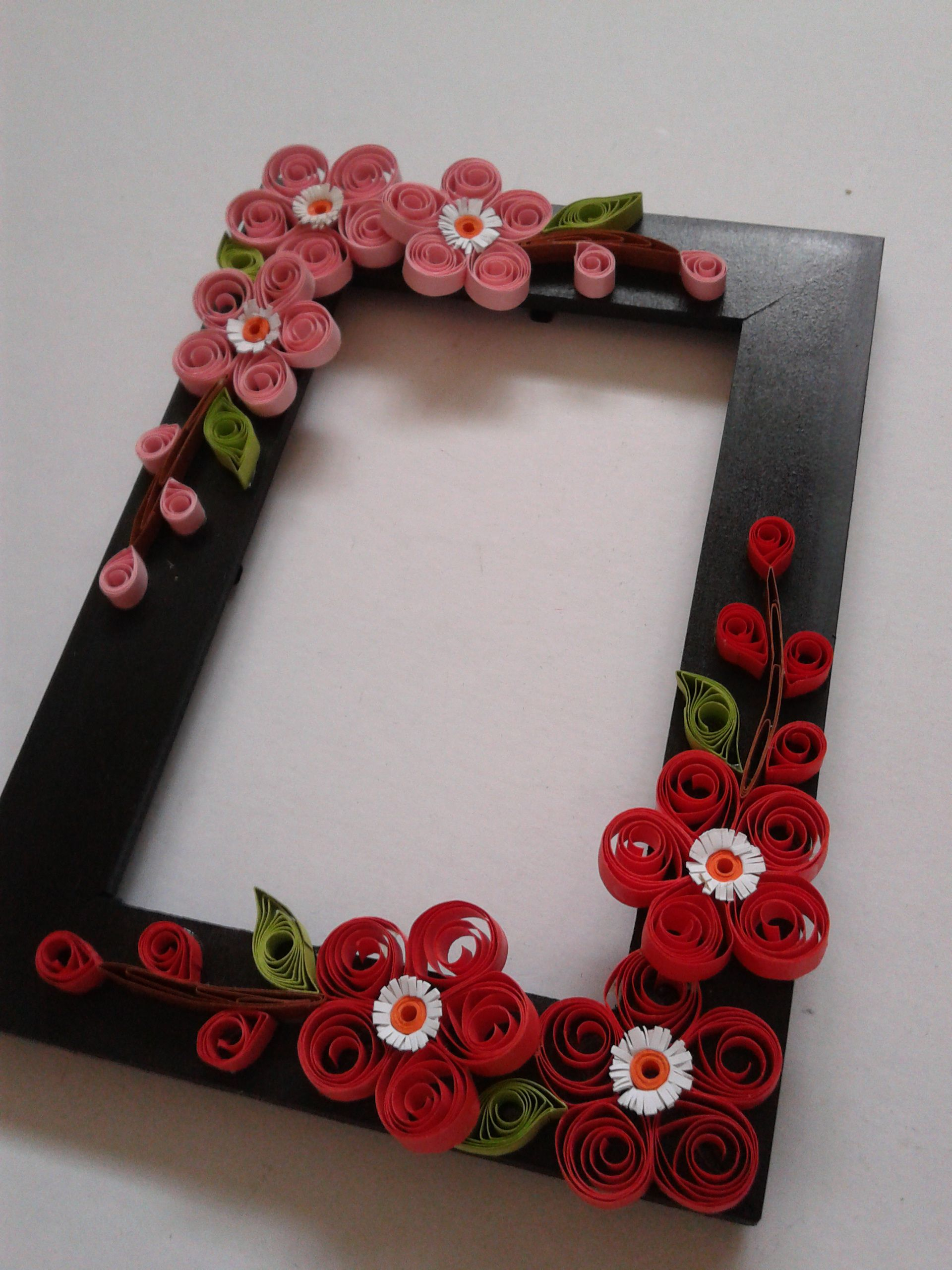 Frames for decor; Daddy\'s pics...Chinese New Year frame. | quilling ...