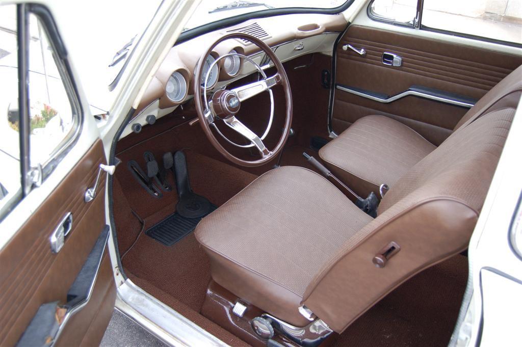 VW Squareback interior by Sewfine. Volkswagen type 3