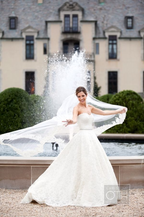 Sophisticated Estate Wedding From Christian Oth Studio #bridalportraitposes