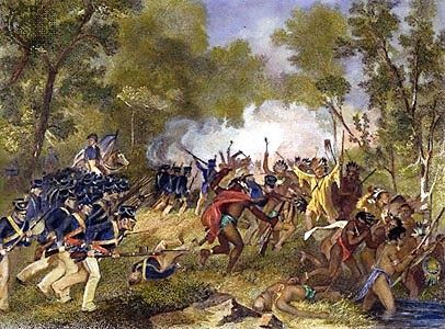 American Indian's History: Tecumseh after the Loss at Tippecanoe
