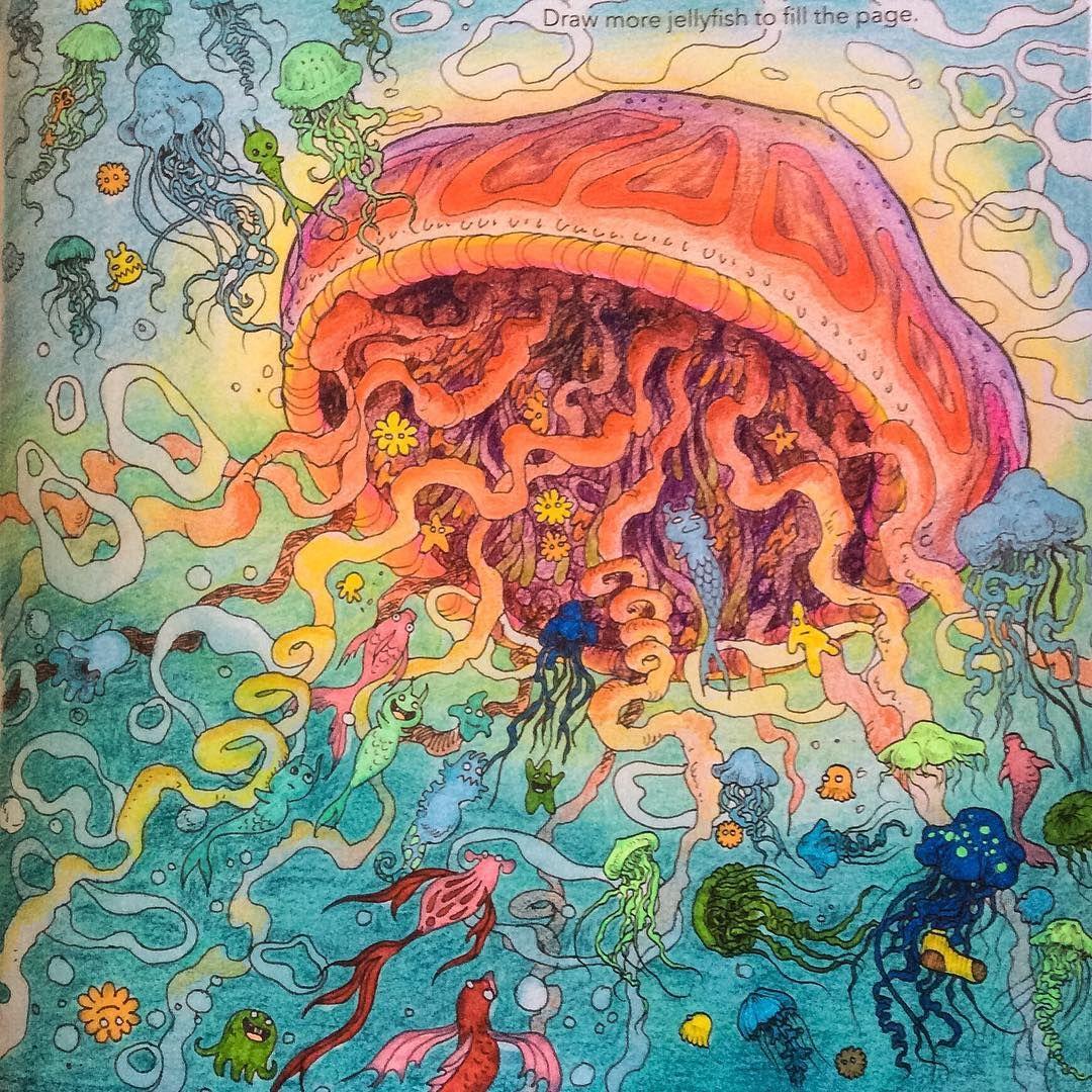 ぬりえ「animorphia by Kerby Rosanes」より。 | ColorBooks:Animorphia ...