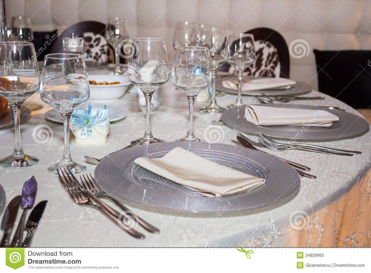 Formal Dining Room Set Up