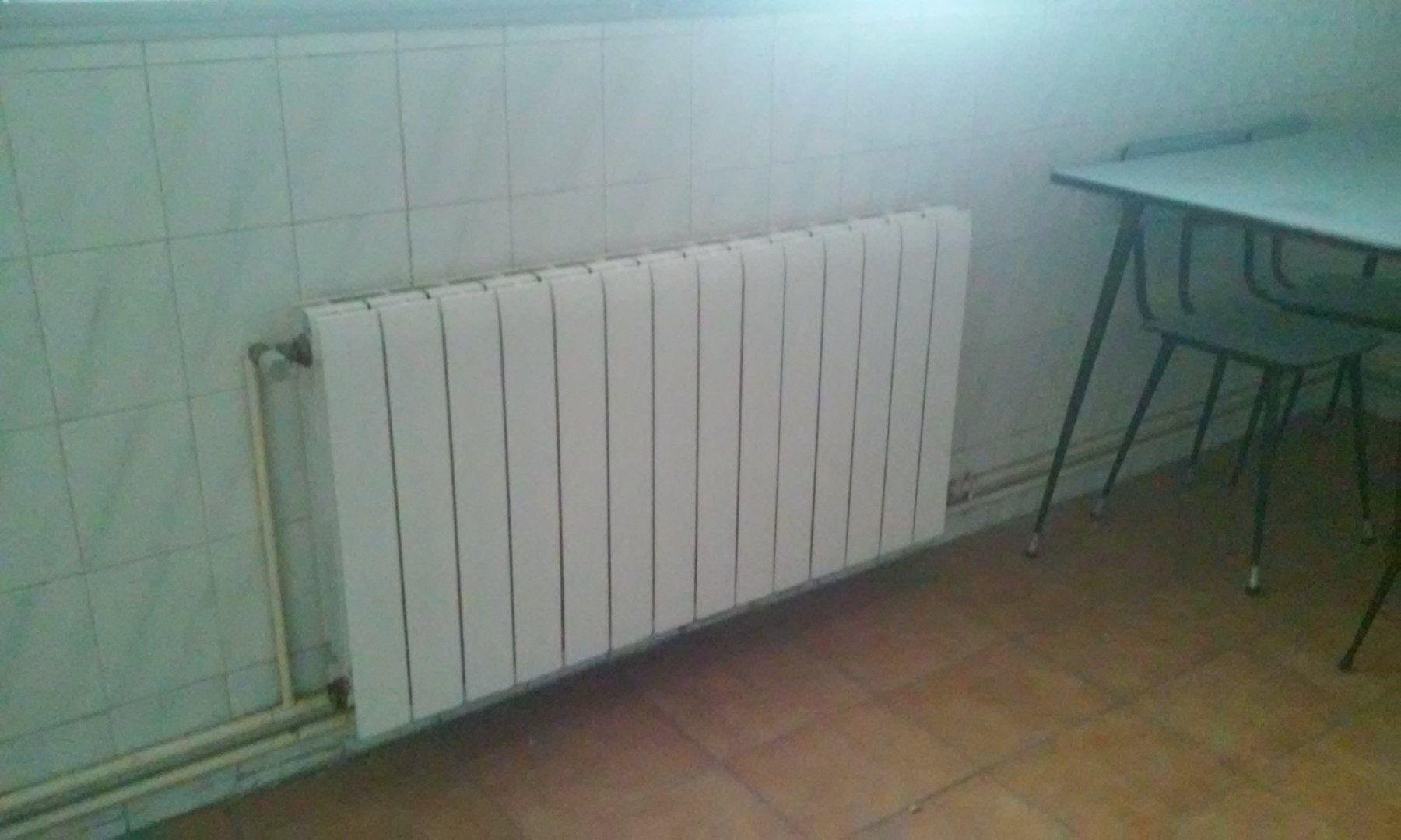 Radiadores calefaccion central
