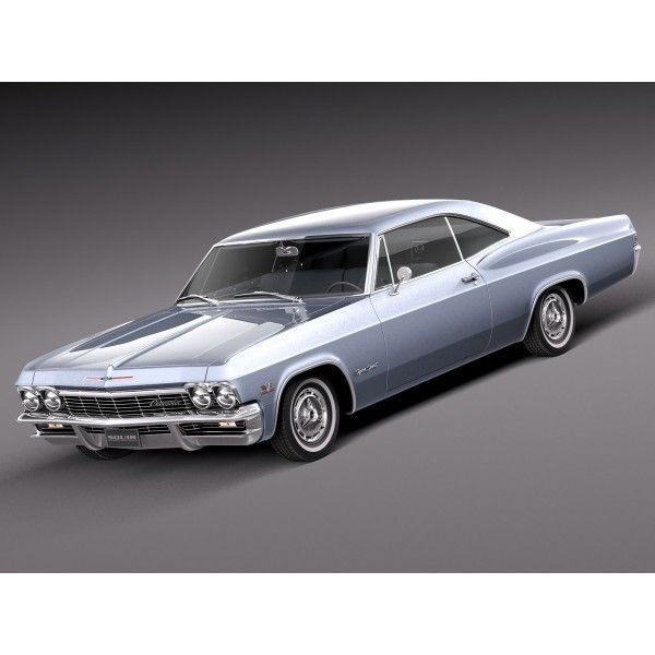 Chevrolet Impala 1965 - 3D Model (With Images)