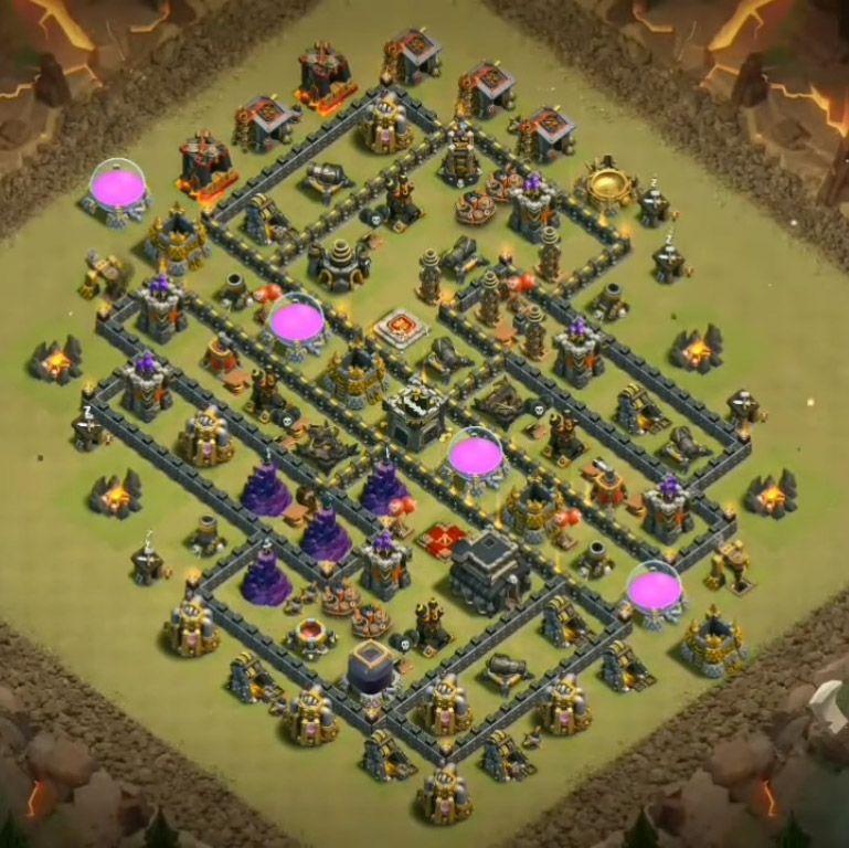 Base Coc Th 9 Anti Lavalon 3