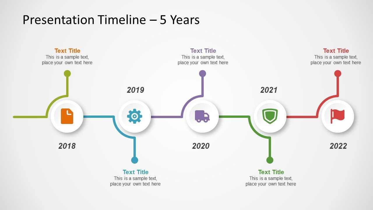 free timeline template for powerpoint slidemodel design infographic diagram