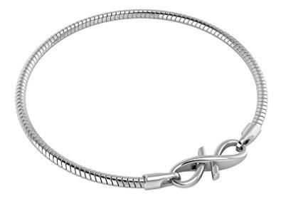 Adera 5 Bar Link Sterling Silver Bracelet of Length 21 cm VVAjKu